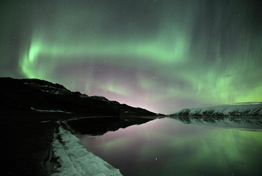 Icelands Aurora Photograph by By Chakarin Wattanamongkol