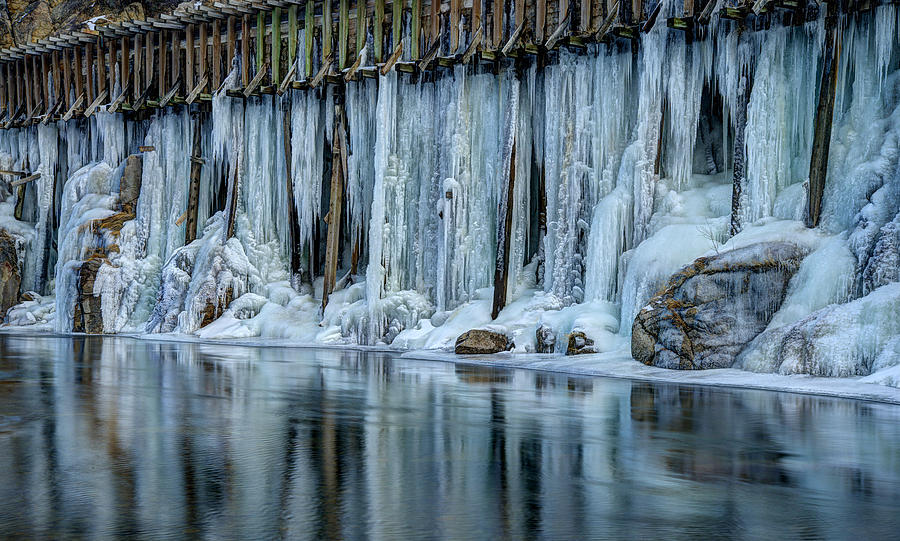 Icicles Photograph - Icicles 2 by Dianne Phelps