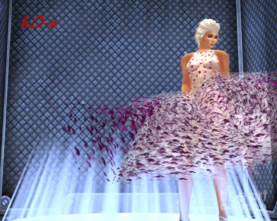 Marilyn Digital Art - Iconic Marilyn Forever by Ha Imako