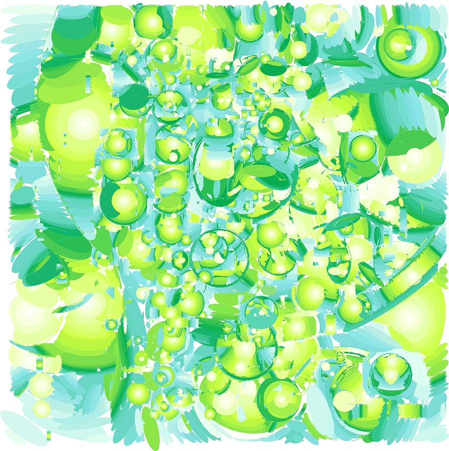Lime Digital Art - Icy Lime by Salvatore Cammarata