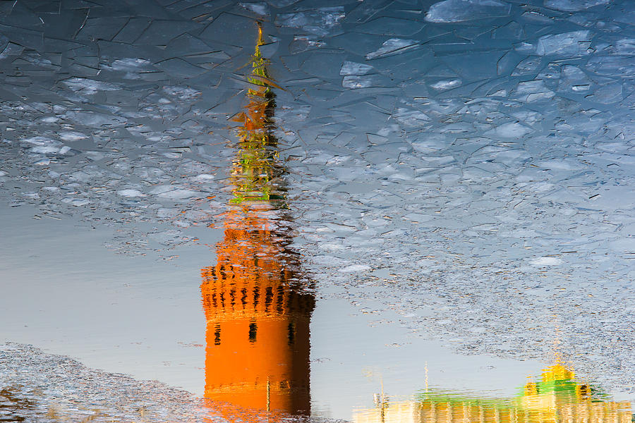 Architecture Photograph - Icy Skies - Featured 3 by Alexander Senin
