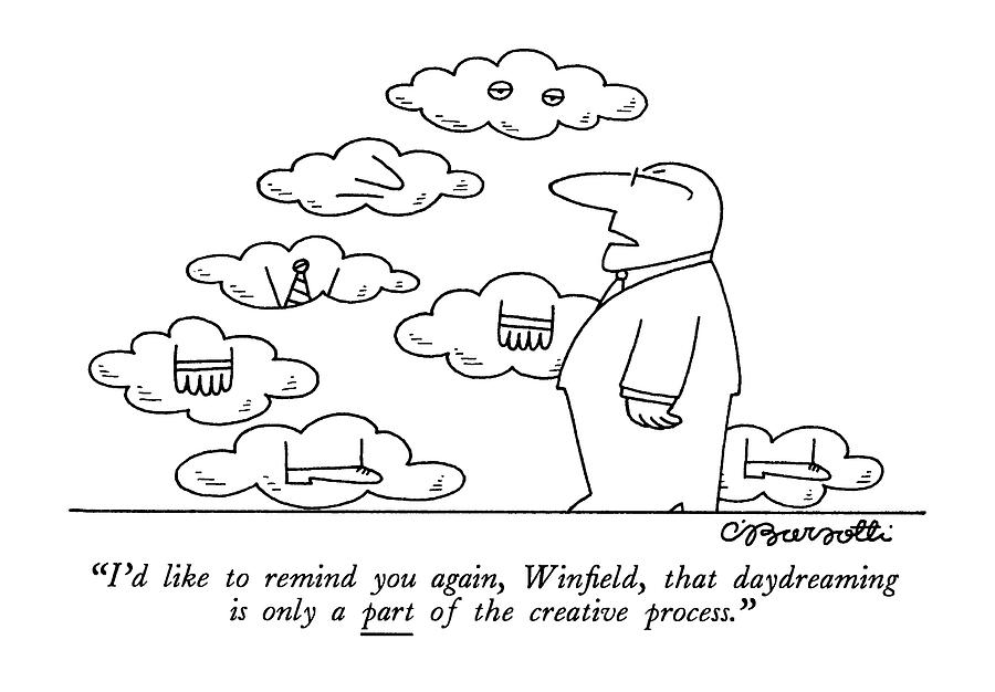 Id Like To Remind Drawing by Charles Barsotti