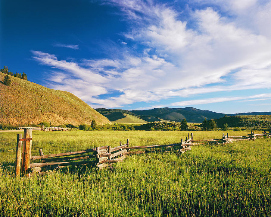 Idaho Country Side Photograph by Ron thomas