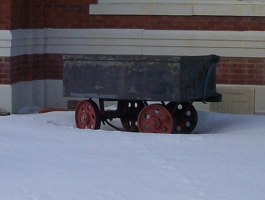 Timeline Photograph - Idle Wagon by Jonathon Hansen