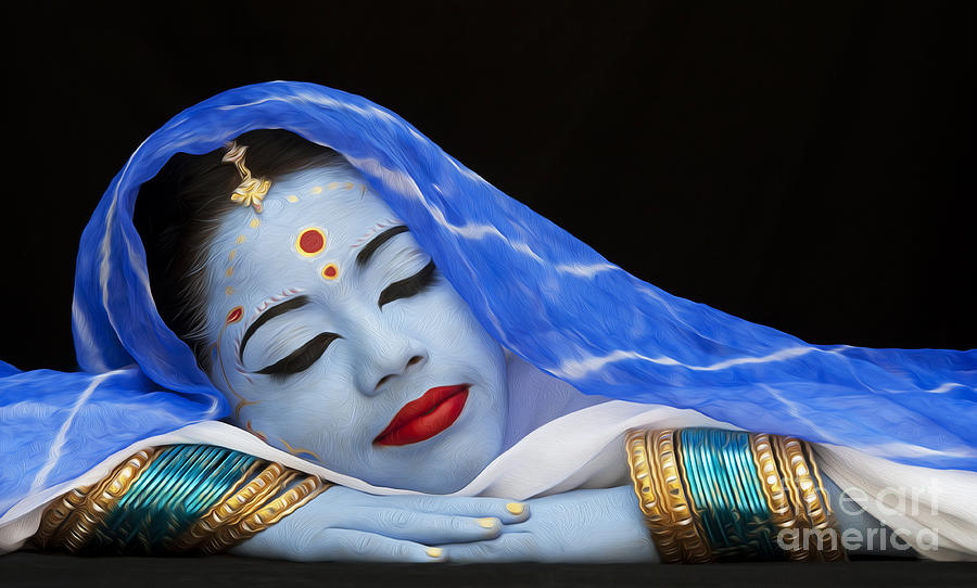 Hindu Photograph - iDream by Tim Gainey