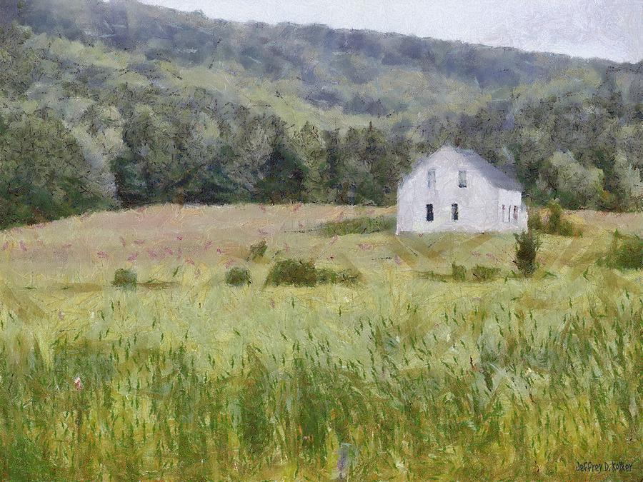 Alone Painting - Idyllic Isolation by Jeff Kolker