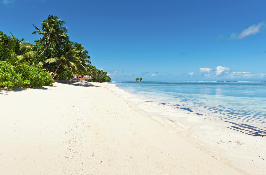 Idyllic Tropical Island Beach Vacation Photograph by Fotovoyager