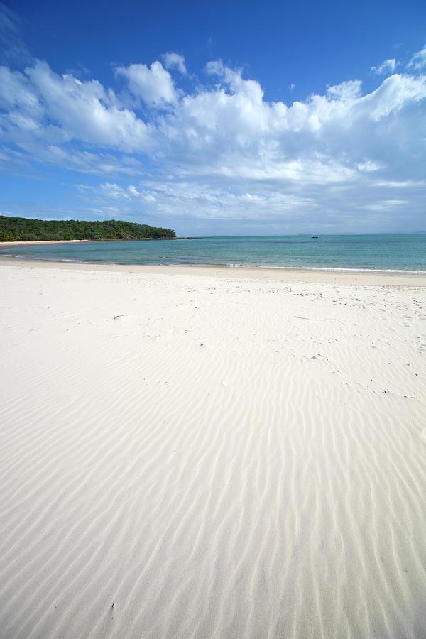 Idyllic White Sand Beach Photograph by Leopatrizi
