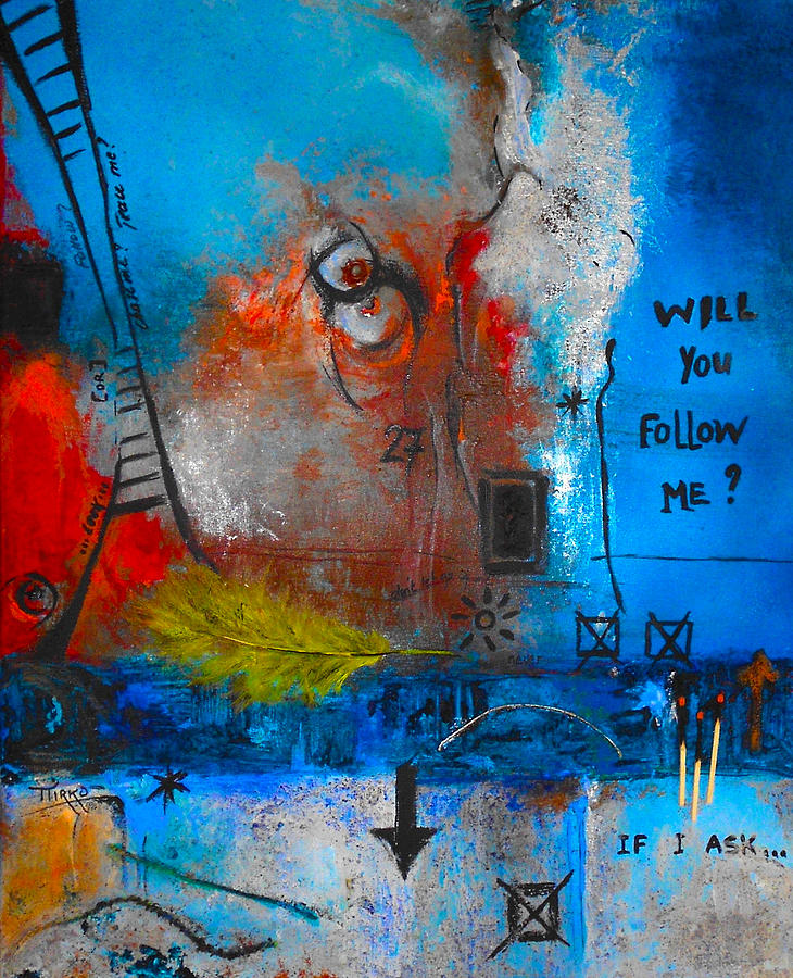 Abstract Painting - If I Ask by Mirko Gallery