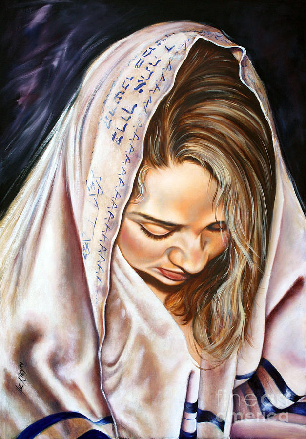 Biblical Painting - If My People by Ilse Kleyn