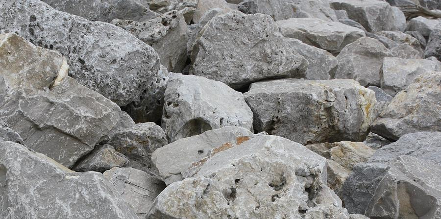 Landscape Photograph - If Rocks Could Talk by Terry Scrivner