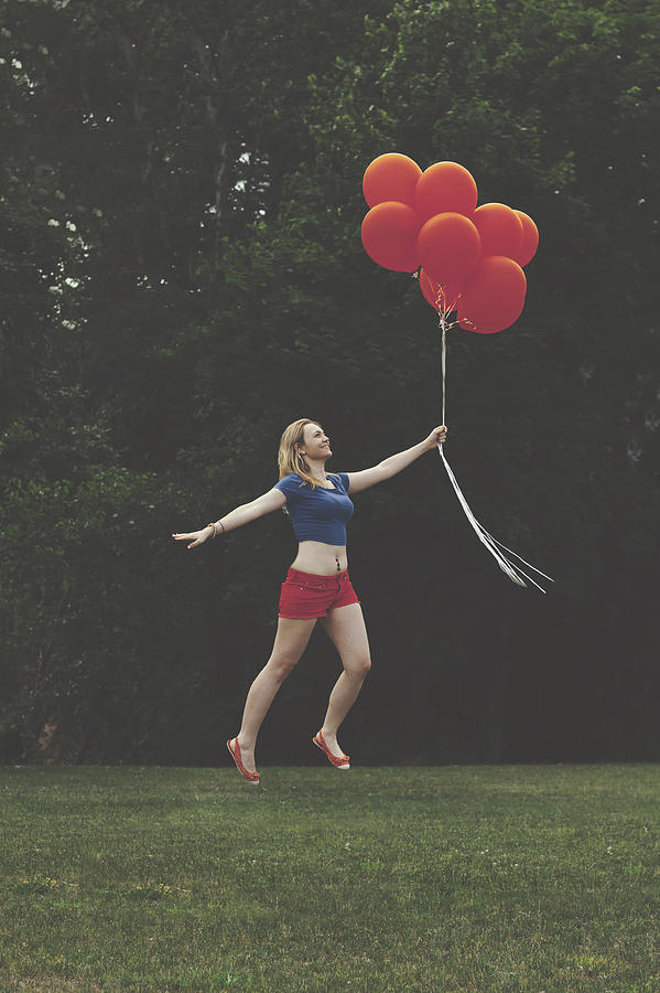 Floating Photograph - If Supergirl Needed Help by Andrew Ramdat