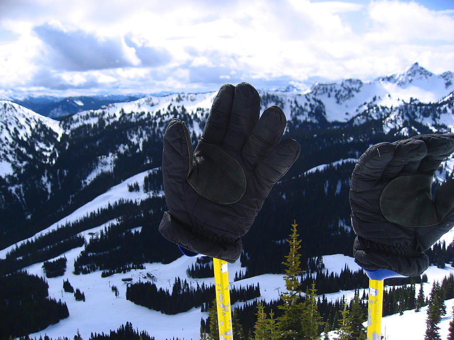 Landscape Photograph - If The Glove Fits by Kym Backland