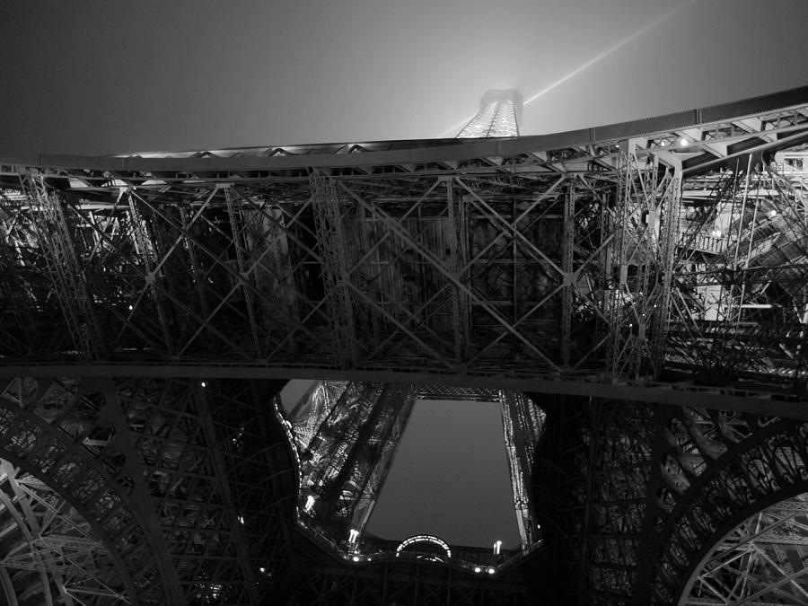 Paris Photograph - If The Tower Had Legs by Humberto Laviera