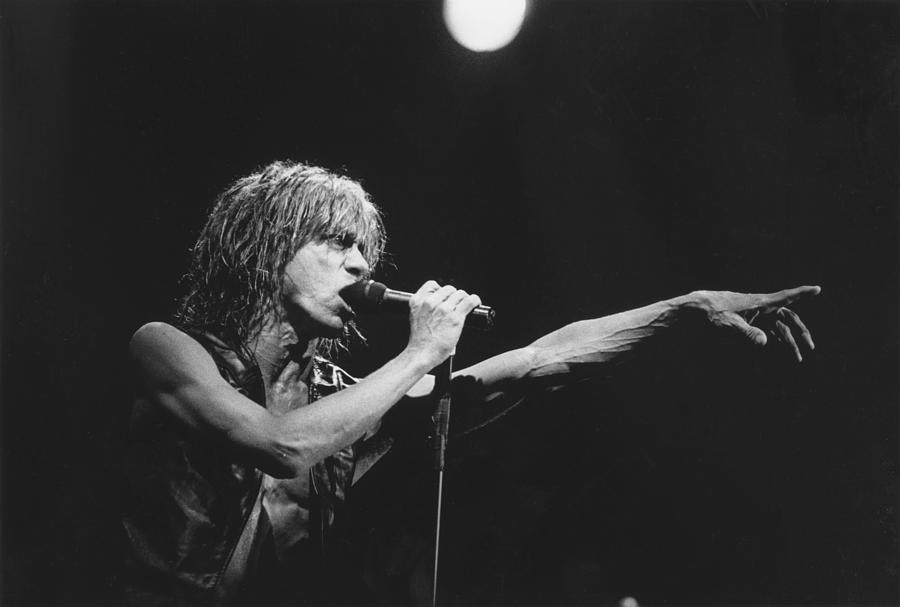 Iggy Photograph - Iggy Pop Live At The Fillmore by Stephen Farley