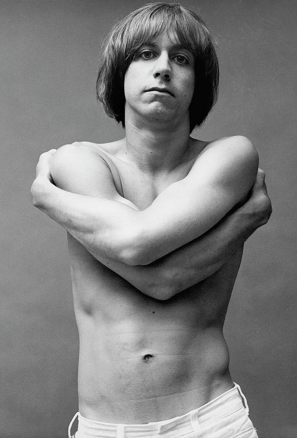 Iggy Pop Shirtless Photograph by Peter Hujar