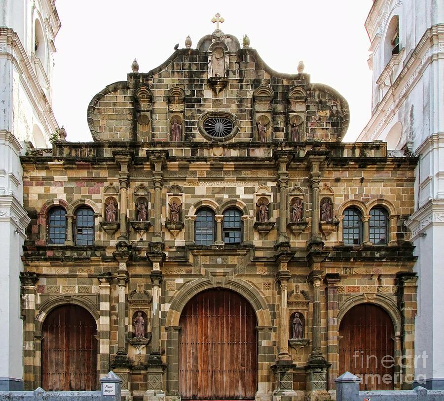 iglesia catedral en el casco viejo de panama by diana