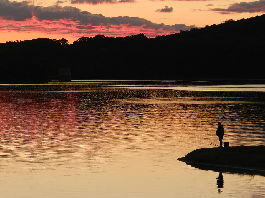 Fishing Photograph - Ignatius Reilly by Nicholas Novello