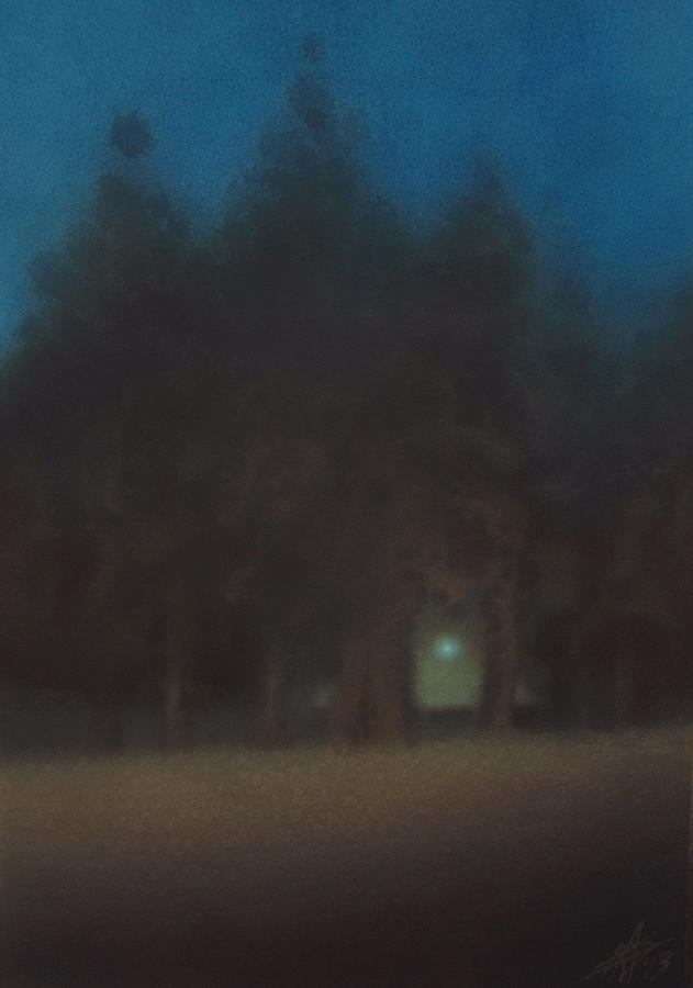 Landscape Painting - Ignis Fatuus II by Robin Street-Morris