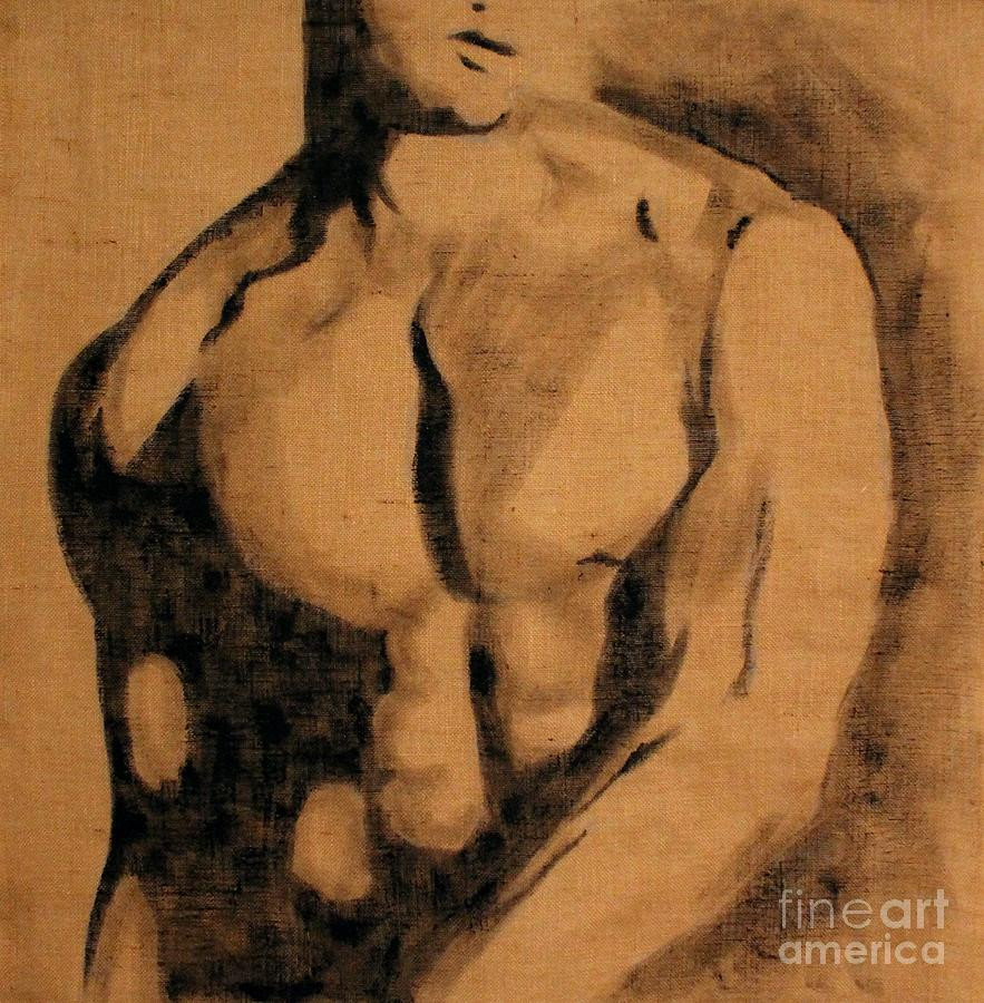 Nude Painting - Ignore by Jindra Noewi