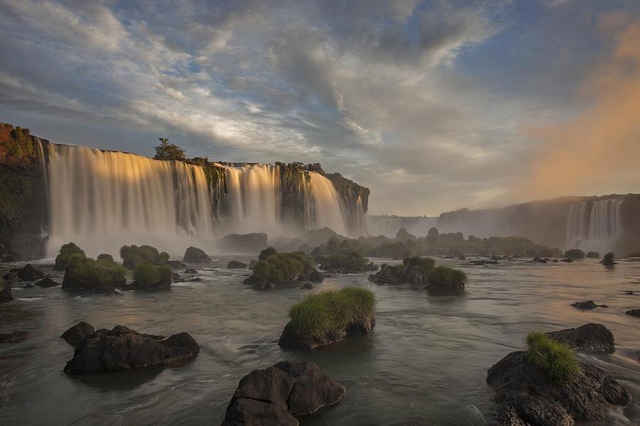 Iguacu Falls  Cascades Argentina Photograph by Ingo Arndt