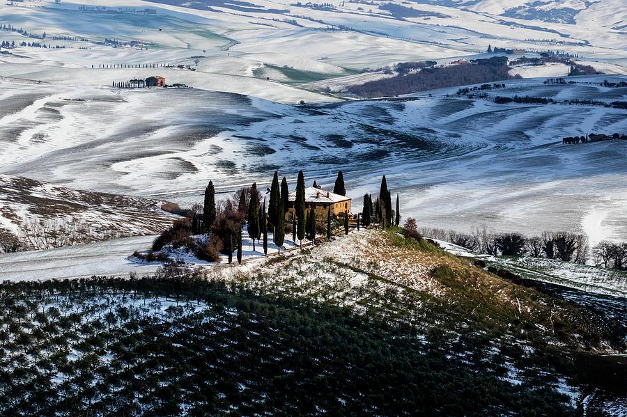 Paesaggio Photograph - Il Belvedere by Massimo Della Latta