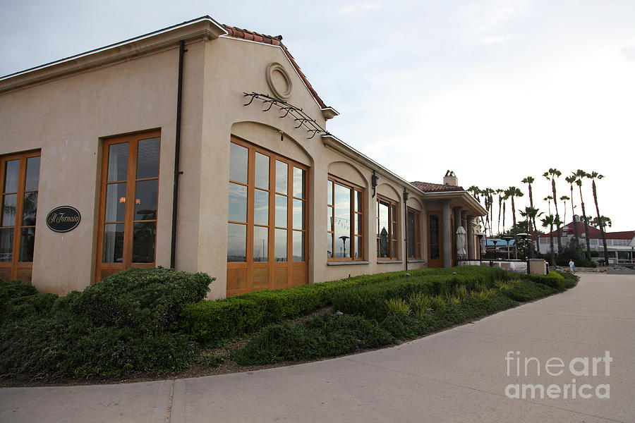 San Diego Photograph - Il Fornaio Italian Restaurant In Coronado California 5d24362 by Wingsdomain Art and Photography