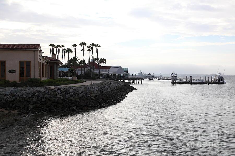San Diego Photograph - Il Fornaio Italian Restaurant In Coronado California 5d24379 by Wingsdomain Art and Photography