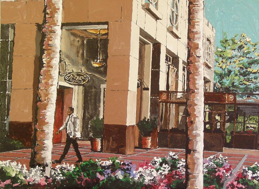 Sacramento Painting - Il Fornaio by Paul Guyer