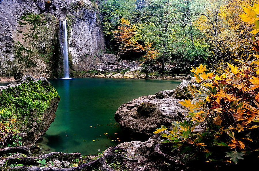 Waterfall Photograph - Ilica Waterfall - 2 by Okan YILMAZ