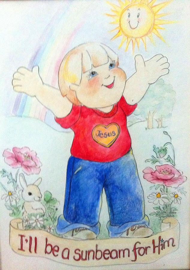 Ill Be A Sunbeam For Him Painting by Lyn Pacific