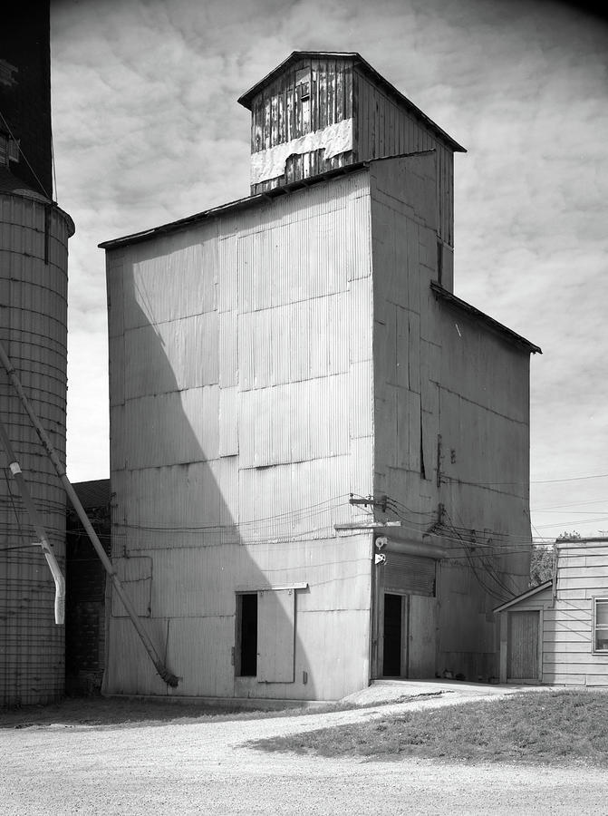 1890 Photograph - Illinois Grain Elevator by Granger