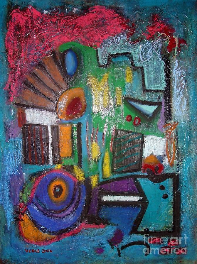 Abstract Expressionist Painting - Illogical by Venus