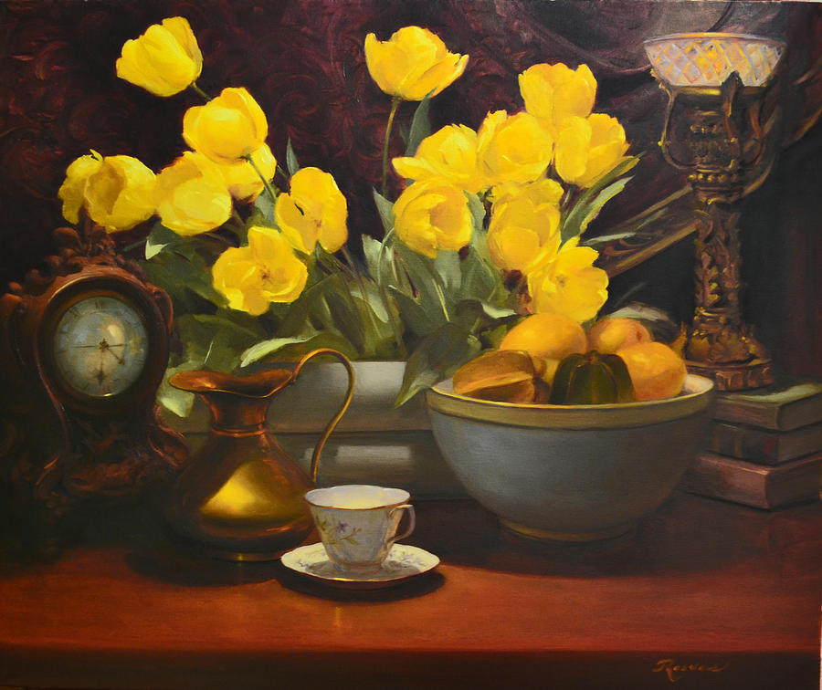 Still Life Painting - Illuminated by Diane Reeves
