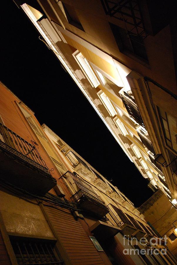 Badajoz Photograph - Illuminated Tops by Susan Hernandez