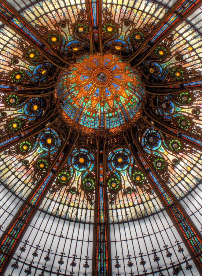 Stained Glass Photograph - Illuminating by Douglas J Fisher
