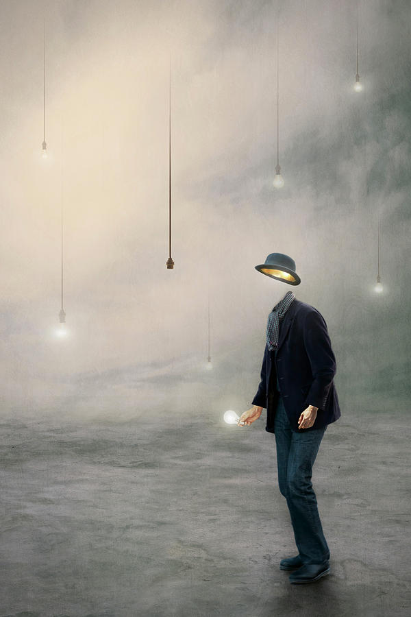 Surreal Photograph - Illumination by Baden Bowen