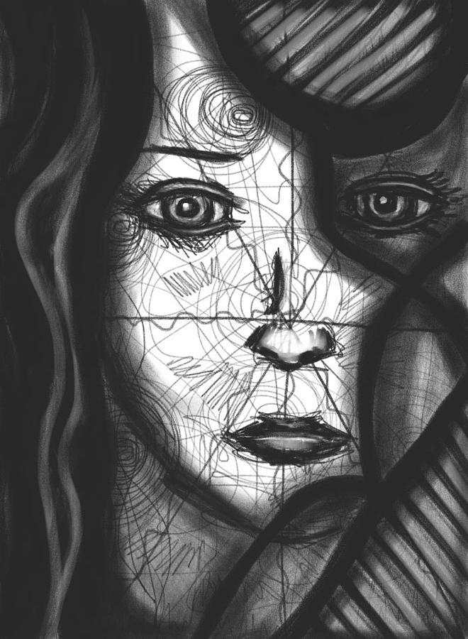 Spiral Digital Art - Illumination Of Self by Daina White