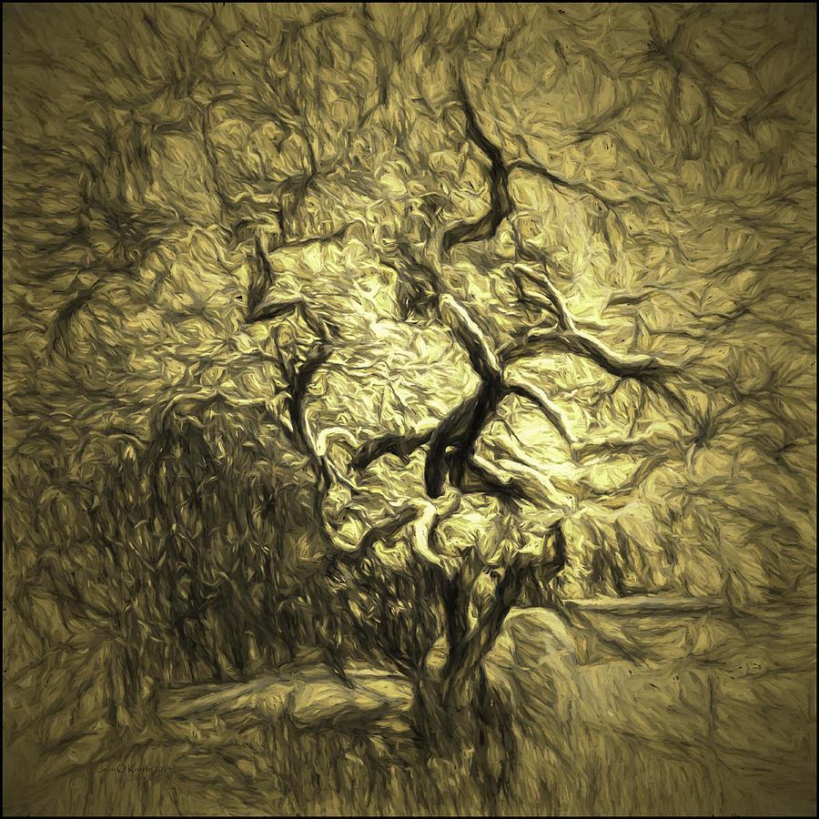 Tree Photograph - Illusion Tree by Jean OKeeffe Macro Abundance Art