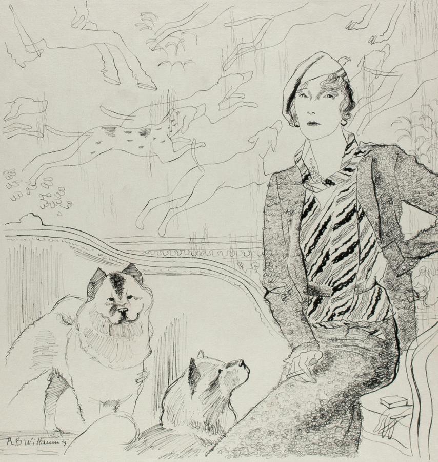 Illustration Of Baronne Eugene De Rothschild Digital Art by Rene Bouet-Willaumez