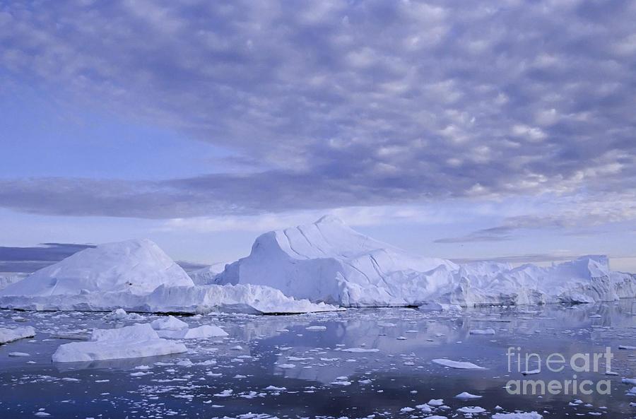 Landscape Photograph - Ilulissat Icefjord Greenland by Rudi Prott