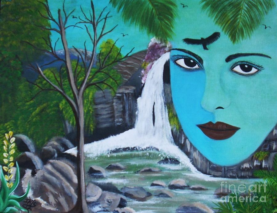 Ilusiones Painting by Iris  Mora
