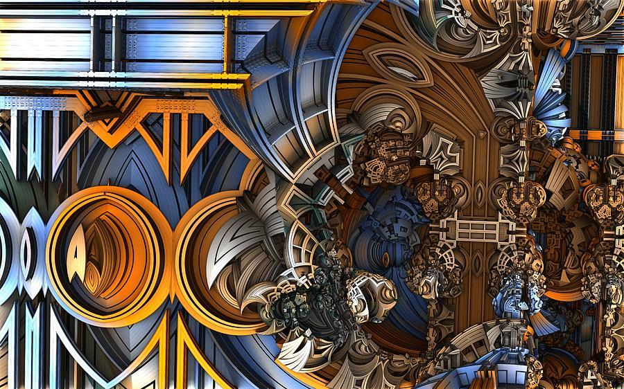 Fractal Art Digital Art - Im Really Confused by Ricky Jarnagin