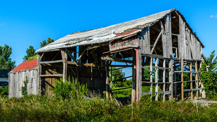 Barn Photograph - Im Still Standing by Randy Scherkenbach