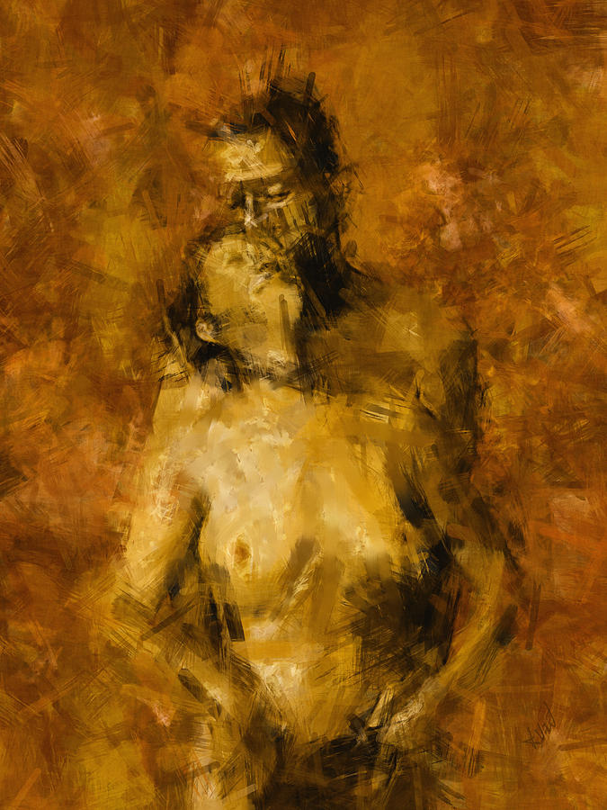 Nude Photograph - Im Yours Forever by Kurt Van Wagner