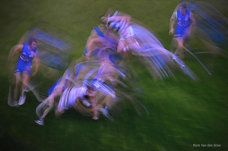Modern Photograph - Image4030thenowmovement by Mark Van den dries