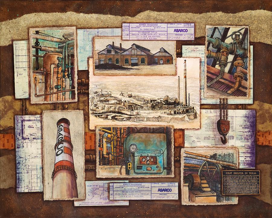 Images Of Asarco Mixed Media