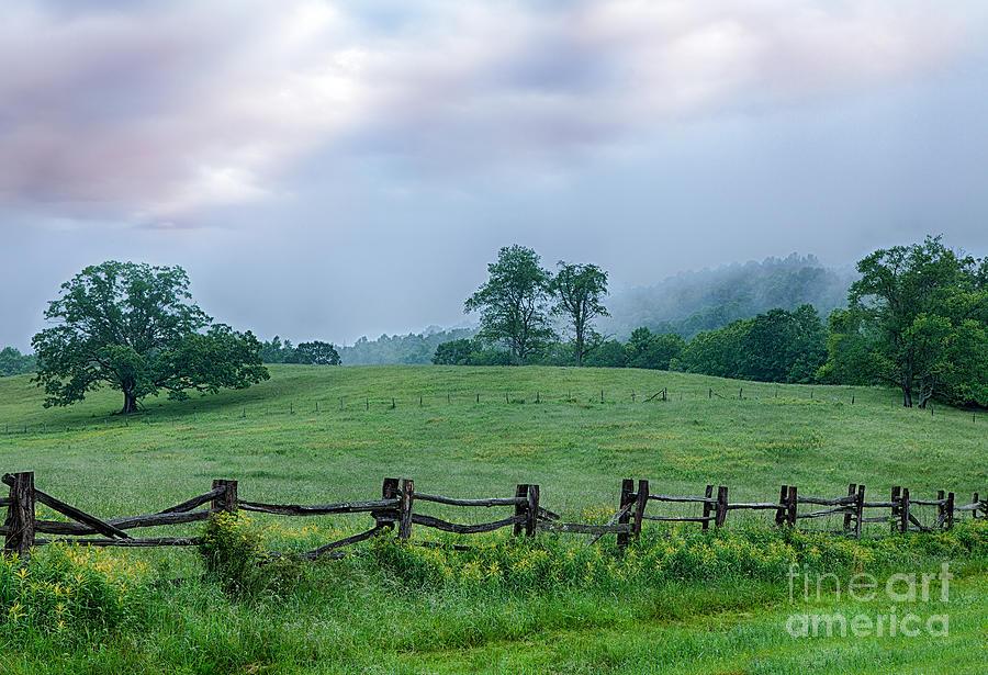 Blue Ridge Parkway Photograph - Imaginary Morning On The Blue Ridge I by Dan Carmichael