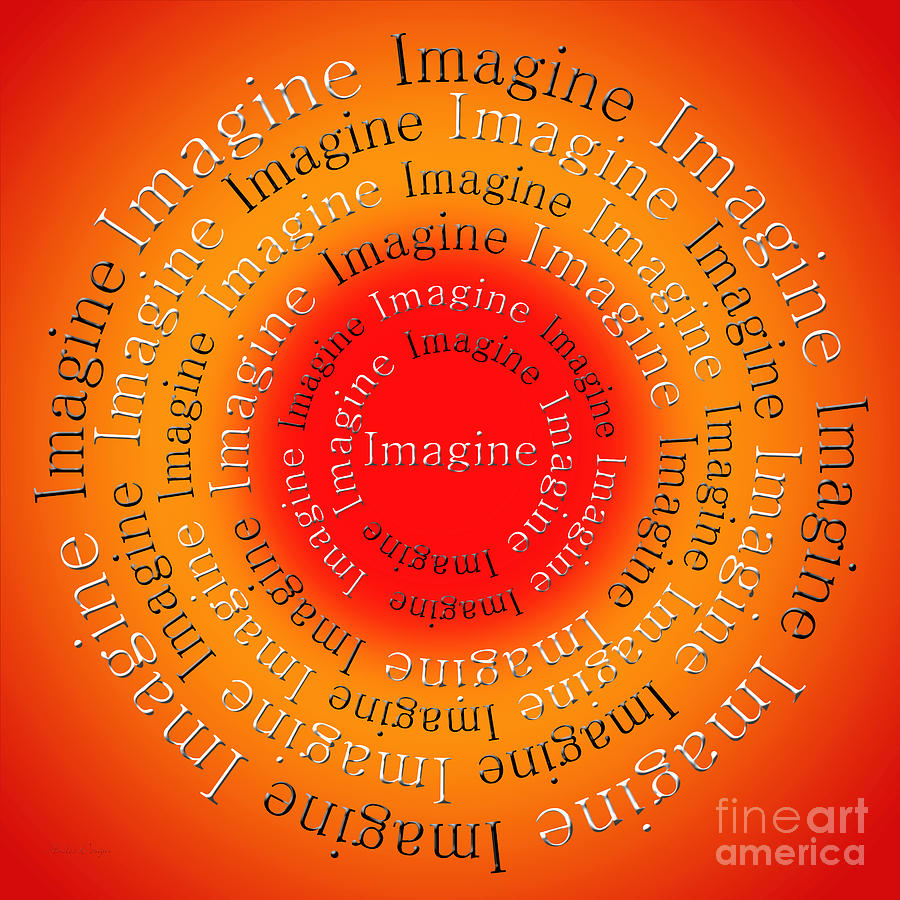 Imagine Digital Art - Imagine 5 by Andee Design