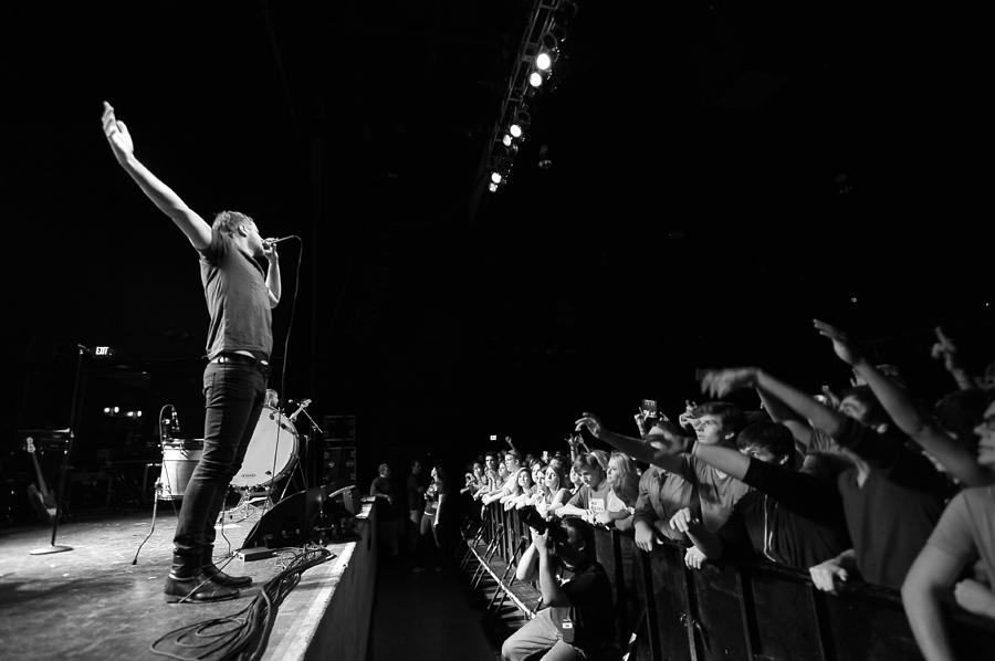 Imagine Dragons Performing In Columbus Photograph by Stephen Albanese